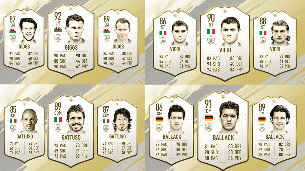 FIFA 19 ICONOS