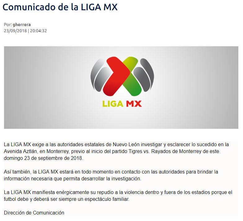Comunicado-Liga-Mx
