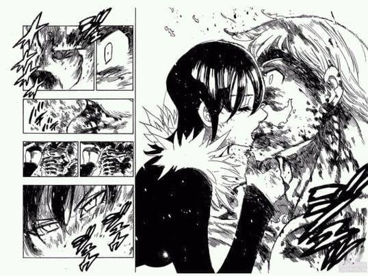 Resultado de imagen de muerte escanor manga