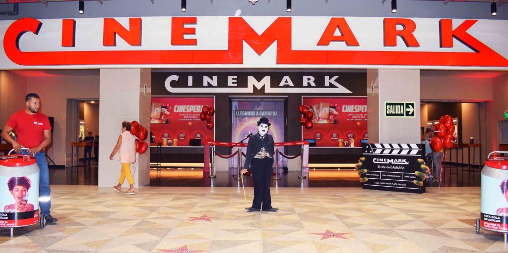 cinemark inauguracion gamarra moda plaza