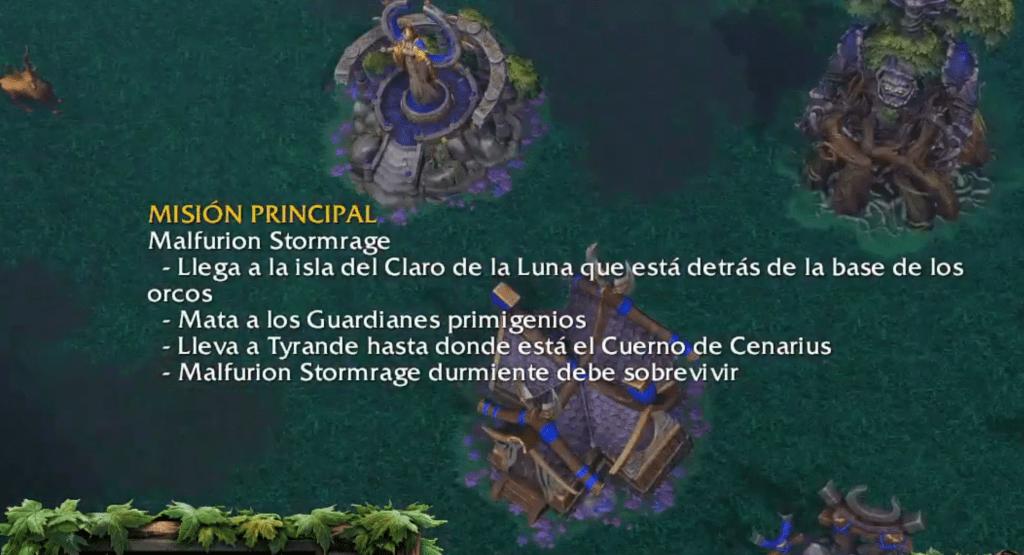 """""""Stormrage"""" no ha traducido."""
