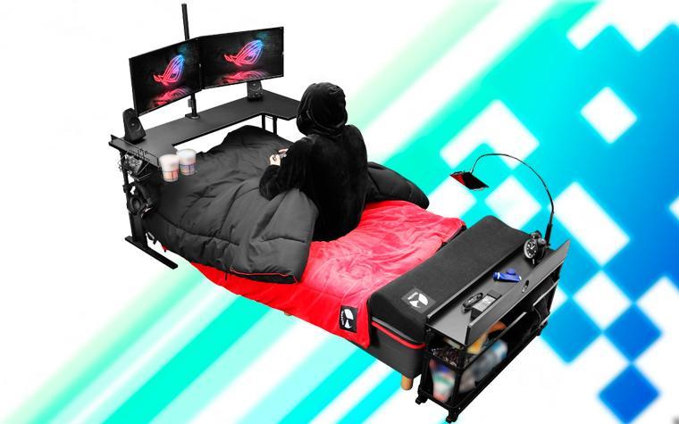Resultado de imagen para cama gamer