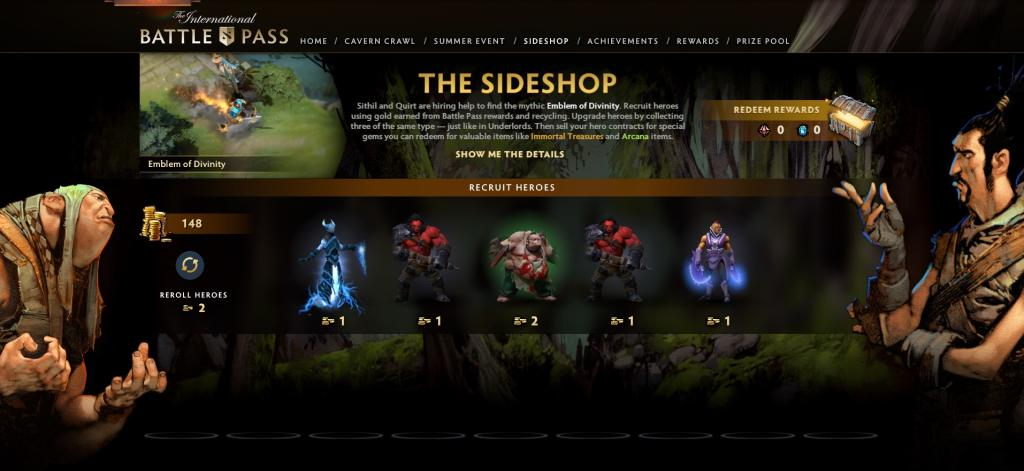 Dota 2 Guía: The Sideshop del Battle Pass 2020 cómo jugar, chances ...
